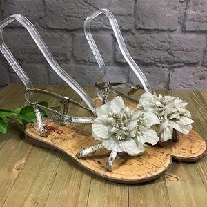 🌻 SALE! 3/$20 BONGO Flower flip flop 7.5 sandals